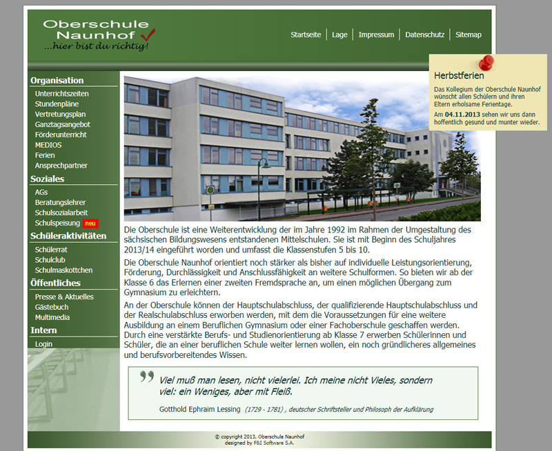 Projekte - Webdesign